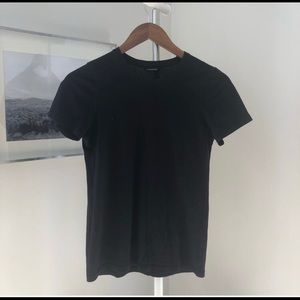 Club Monaco Black T-shirt Size XS